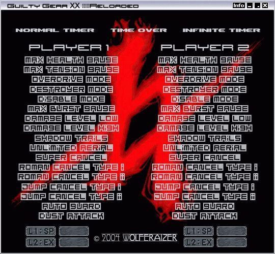 GGXX #Reloaded PC Trainer